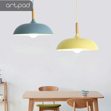 35CM/40CM/45CM/60CM Adjustable Nordic Hanging Lamp For Dining Room Kitchen E27 Colorful LED Modern Aluminium Pendant Lights