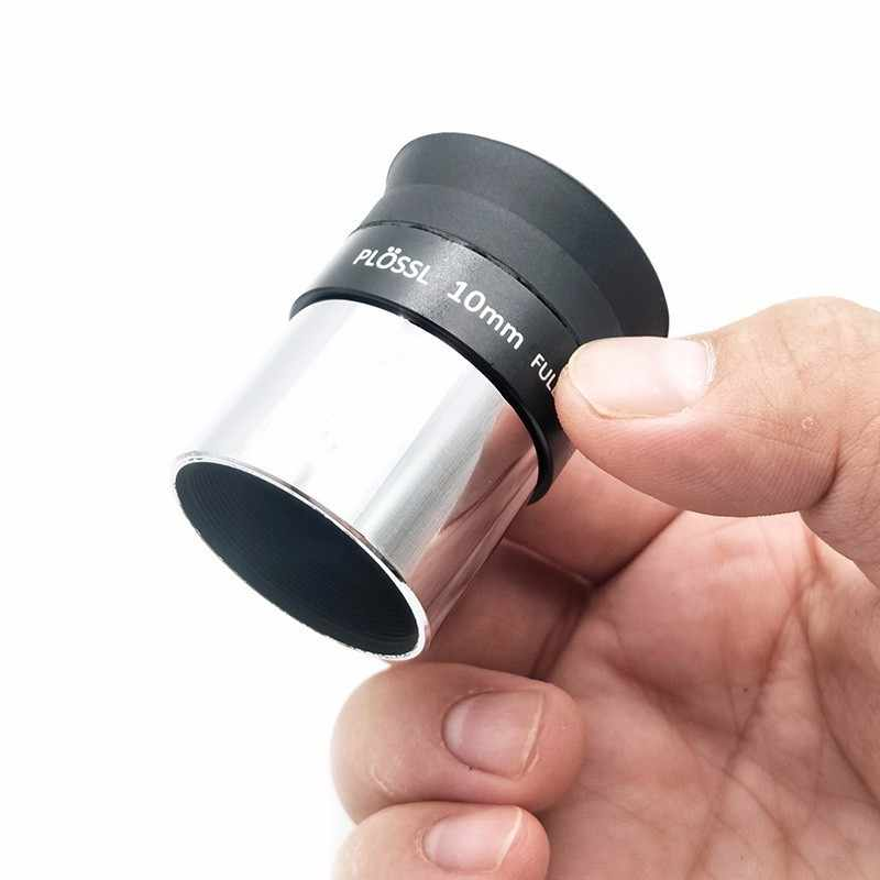 1.25 Inch PLOSSL Eyepiece 10mm HD Fully Coated Lens for Astronomy Telescope