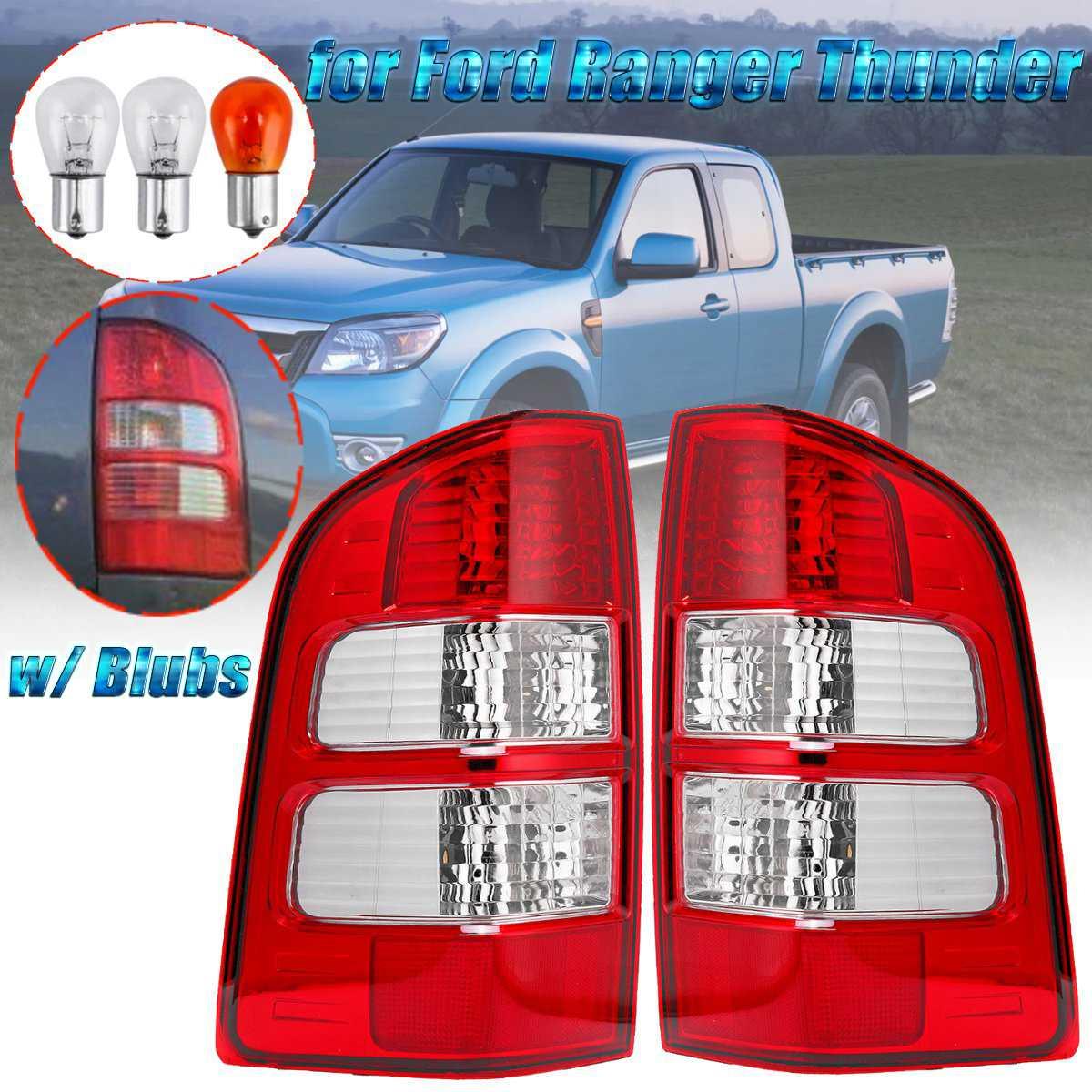 Per Ford Ranger Thunder Camion Pick-Up 2006 2007-2011 1 paia di Coda Posteriore Luce Freno Lato Destro e Sinistro Della Lampada fanale posteriore Con La Lampadina