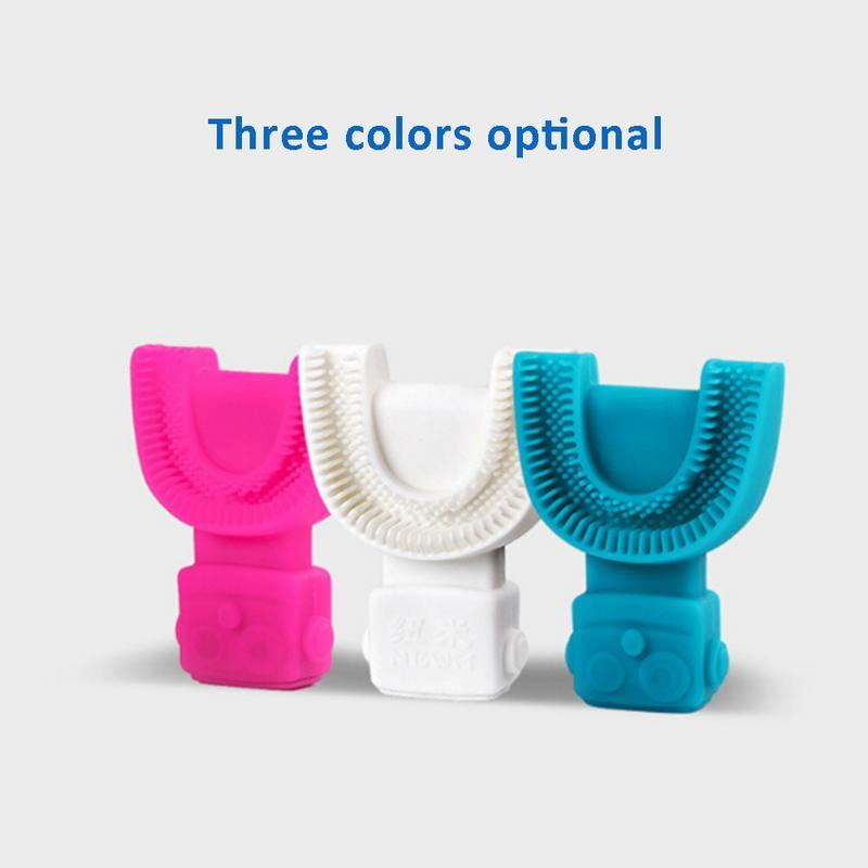 360 degrés brosse à dents électrique automatique sonique USB Rechargeable intelligente Ultra sonique silicone brosse à dents 5 Modes U Type Timer4 - 5