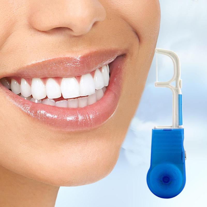 100% Wahr Tragbare Floss Rack Mit Veränderbar Draht Dental Zähne Oral Pflege Reiniger Zähne Bleaching Dental Reinigung GroßEr Ausverkauf Dental Flosser