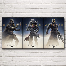 Destiny Video Game Art Silk Fabric Poster Prints Pictures For Bedroom Home Wall Decor Painting