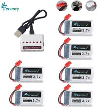3.7V 800mAh 25c Lipo Battery Charger Sets for Syma X5 X5HC X5HW X5UW X5UC 3.7v X5 Battery RC Quadcopter Drone Spare Part 902540 syma x5uw x5uc cw motor