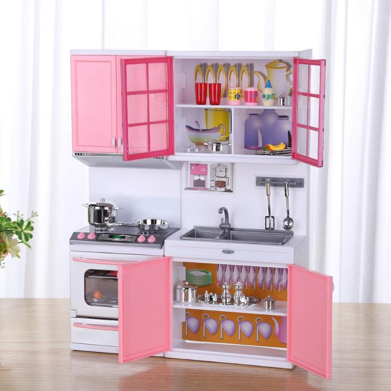 Mini Kids Kitchen Pretend Play Cooking Set Simulation Cupboard Cabinet Toys For Child Accessories Kitchen Toys Baby Puzzle DollMini Kids Kitchen Pretend Play Cooking Set Simulation Cupboard Cabinet Toys For Child Accessories Kitchen Toys Baby Puzzle Doll