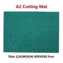 A2 ПВХ коврик для резки Лоскутная двойная печать самовосhealing вающийся коврик для резки крафт Квилтинг, скрапбукинг Доска 45X60 см 3 мм