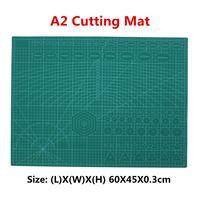 A2 PVC 커팅 매트 커팅 패드 패치 워크 더블 인쇄 자기 치유 커팅 매트 공예 퀼트 스크랩북 보드 45X60CM 3mm