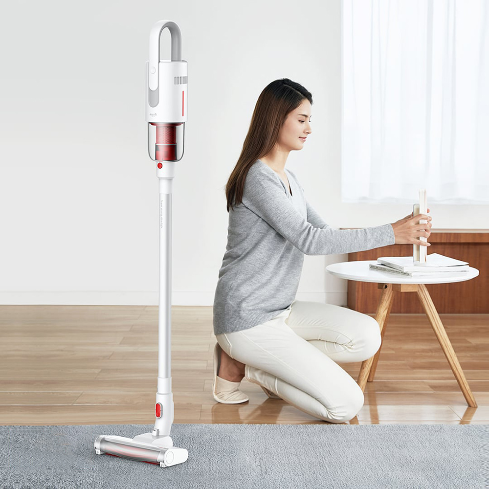 2019 new xiaomi deerma vc20 vacuum cleaner auto vertical handheld cordless stick aspirator. Black Bedroom Furniture Sets. Home Design Ideas