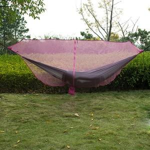 Image 4 - Aparte Hangmat Klamboe Zwart Army Green Twee Persoon Hangmat Camping Cover Niet Met De Hangmat Voor Outdoor Opknoping stoel