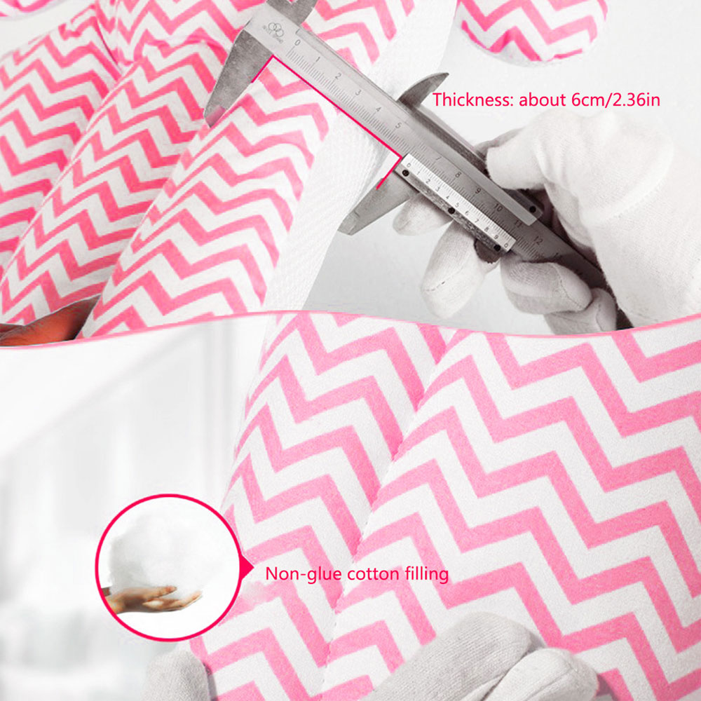 Подушка безопасности детское автомобильное сиденье Подушка для детского сиденья синий розовый хлопок интерьер подушки детский, обеденный стул прочный