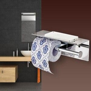 Image 2 - Suporte de papel higiênico duplo, suporte de papel higiênico para banheiro, restaurante, hotel, compras