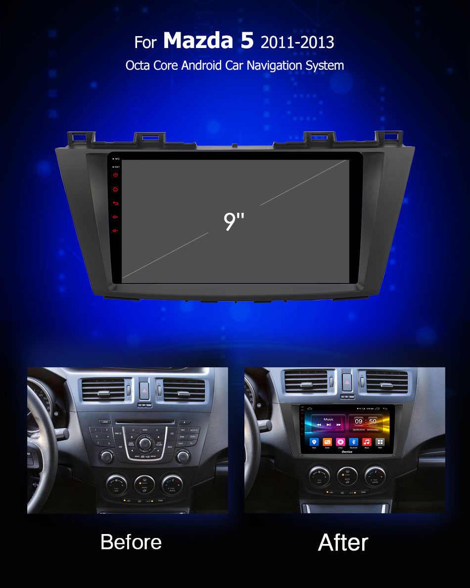 Ownice C500 + G10 Android 8.1 dvd-speler GPS Navi Multimedia Voor Mazda 5 MPV auto radio 2011 2012 2013 stereo Autoradio carplay 4G