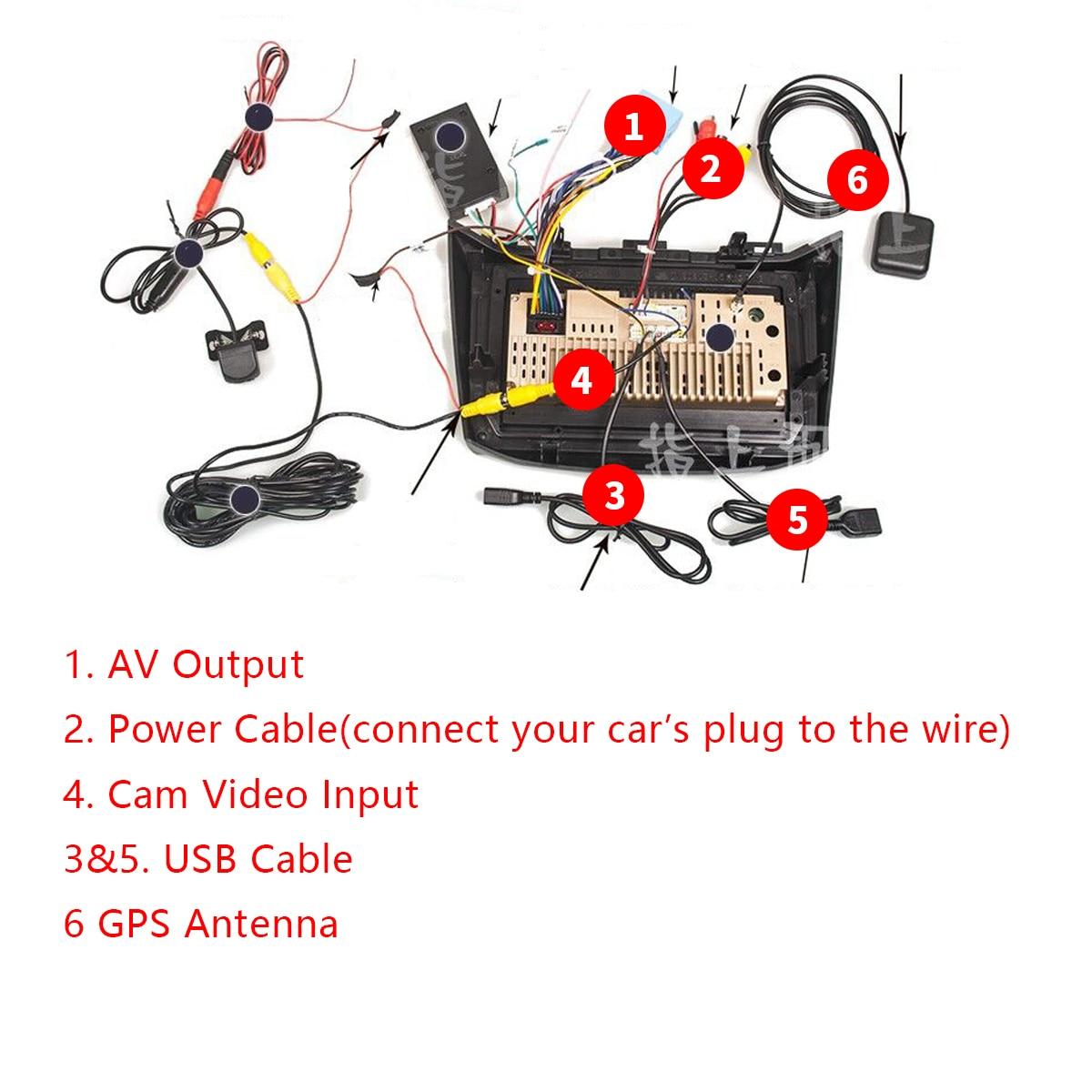Podofo Android 8,1 Автомобильный мультимедийный игрок двойной din автомобильный Радио 7 ''Сенсорный экран gps аудио Wifi Автомобильный MP5 плеер Поддержка... - 6