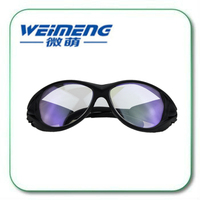 Weimeng 940nm laser protective goggles 910nm 1000nm safety glass for laser machine & beauty equipment Supplementary Lamp
