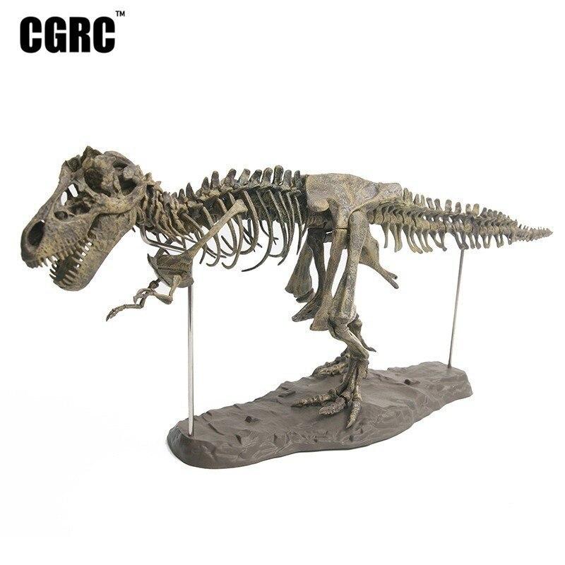 Pvc Plastic Simulation Tyrannosaurus Fossil Dinosaur Skeleton Model Office Decoration Childrens Teaching Toys Cheap Sales Action & Toy Figures