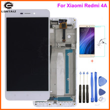 Xiaomi Redmi 4A LCD Display with Frame Digitizer Touch Screen Assembly TouchScreen Panel Replacement Repair Parts