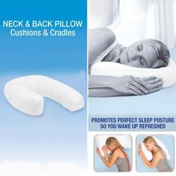 Health Care U Shaped Neck Back Sleep Pillow Side Sleeper Pillows Neck Back Pillow Hold Neck Spine Protection Cotton Pillow