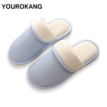 Winter Women Shoes Home Slippers Female Warm Indoor Plush Slippers Furry Cotton Cute Couple House Shoes Unisex Dropshipping halluci pink cute superstar home slippers women shoes polar fleece winter keep warm pulsh indoor slippers simple couple shoes