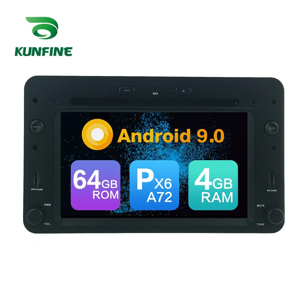 Android 9.0 Core PX6 A72 Ram 4G Rom 64G voiture DVD GPS lecteur multimédia voiture stéréo pour Alfa Romeo Spider 2006 radio headunit