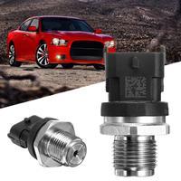 for Dodge Cummins 2007 2012 5297640 6.7L Engine Oil Fuel Rail Pressure Sensor 3 Pin Part Number 5297640 68002436AB FPS2 FPS502