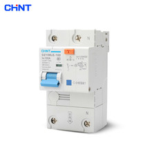 CHINT High Power Home With Leakage Circuit Breaker DZ158LE 1P + N 100A Air Switch Residual Current Protection Circuit Breaker dmwd dpnl dz30le 32 1p n 25a 220v 230v 50hz 60hz residual current circuit breaker with over current and leakage protection rcbo
