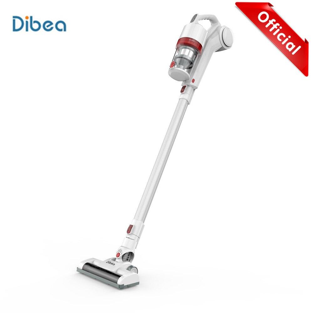 Dibea DW200 2-em-1 Handheld Aspirador de pó Sem Fio Forte Sucção Coletor de Pó Aspirador de pó Sem Fio Com a Parede rack de enforcamento