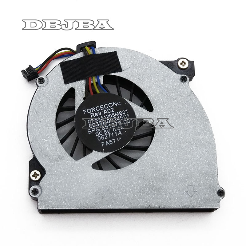 NEW Laptop cpu cooling <font><b>fan</b></font> for <font><b>HP</b></font> EliteBook 2560 2570 2560p <font><b>2570p</b></font> MF60090V1-C130-S9A 651378-001 DFS451205MB0T FA5T 6033B0024501 image