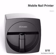 Маникюрный Инструмент для дизайна ногтей принтер машина для принта ногтей маникюр передачи изображения с помощью телефона O2 гвозди