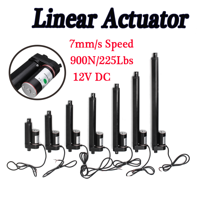 "Mounting Brackets 30/"" 30 Inch Linear Actuator Stroke 225 Lb Lift 12V Volt DC"