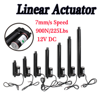 2 4 6 8 10 12 16 Inch 900N 225 12V Lbs Linear Actuator Stroke Pound Electric Motor Linear Actuator