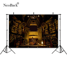 Thin Vinyl Hogwarts Stone Wall Library baby children kids Photography Backgrounds professional indoor studio Photo Backdrops
