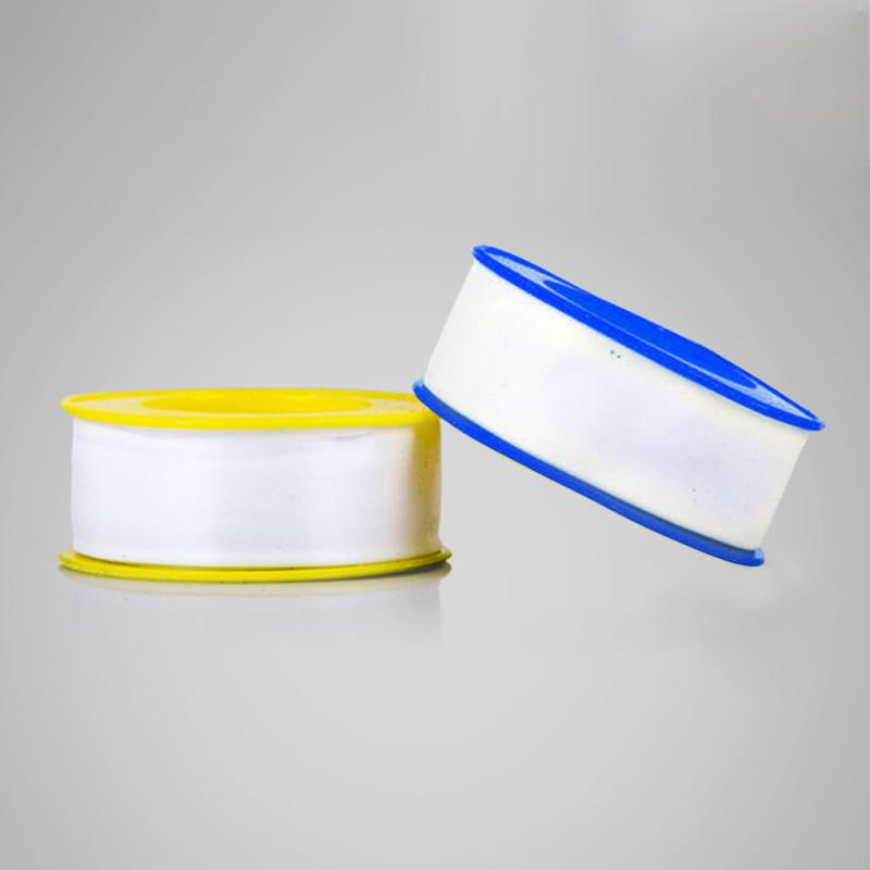 1 Roll Thread Seal Plumbing Tape Oil-free Water Pipe PTFE Teflon Plumbing Tape 5M 10M 20M Random Color #20