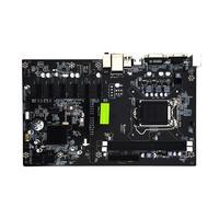 H81 BTC Motherboard 6 GPU Mining LGA1150 CPU DDR3 Memory High Speed USB3.0 Ports Computer PC Mainboard