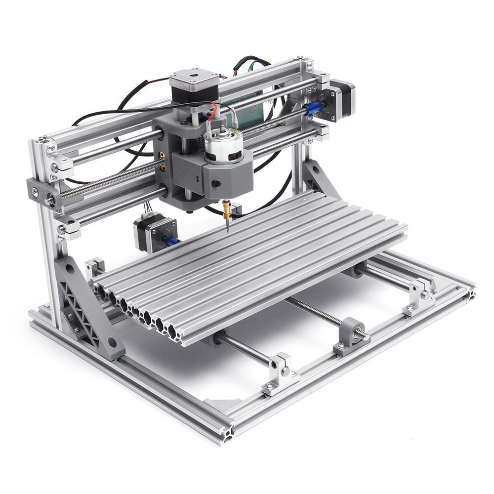 Bricolage Mini CNC routeur Laser Machine 3 axes 3018 GRBL contrôle Pcb Pvc fraisage bois routeur bois routeur Laser gravure