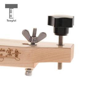 Image 5 - Tooyful دائم خشب متين القيثارات الصوتية جسر مع المشبك الفلين طوقا لتقوم بها بنفسك القيثارات إصلاح صيانة أطقم