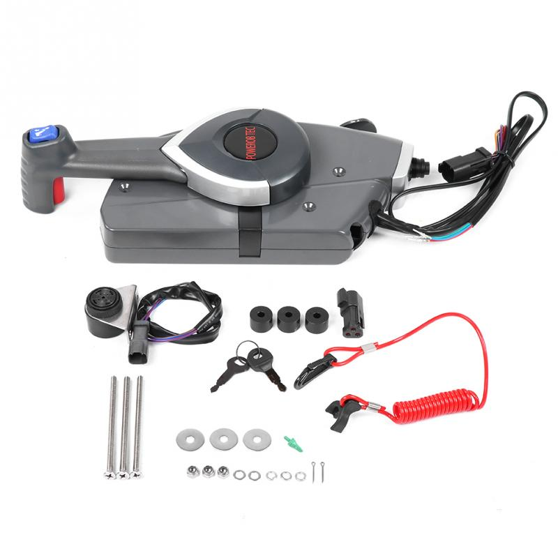 US $215 53 16% OFF Outboard Side Remote Control Box Throttle/Shift for BRP  Johnson Evinrude Boat 5006180-in Boat Engine from Automobiles & Motorcycles
