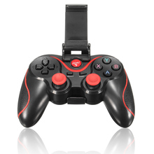 Portable Wireless Bluetooth Gamepad Portable Gaming Controller Bracket Set for Android Sma
