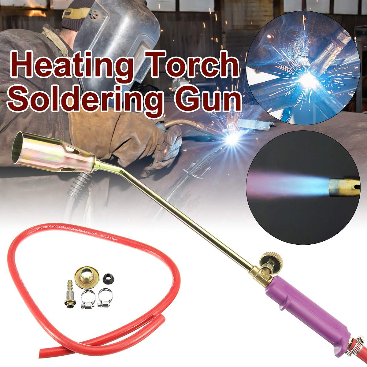 Heating Torch Propane Gas Blowing Plumber Roofing Soldering Gu N Pipe Roof Welding Torches
