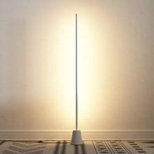 Modern LED Floor Lights Living Room Bedroom Home Decor Iron Lamp Studyroom Industrial Lamps Standing Luminaire