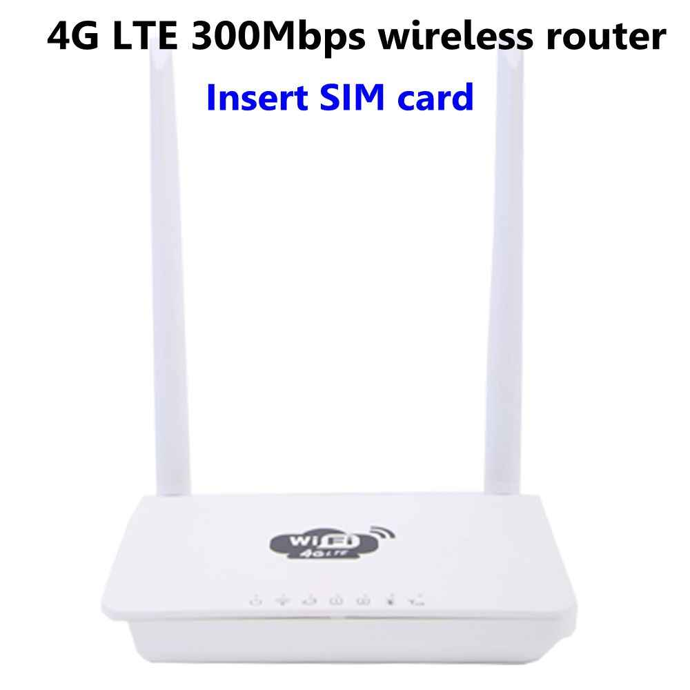 Zeepin CP602 WiFi Router 4G LTE 300Mbps Home Wireless Router CPE Qualcomm  9200 DDR2 64 MB RAM 16 MB FLASH 2 4GHz WiFi Network
