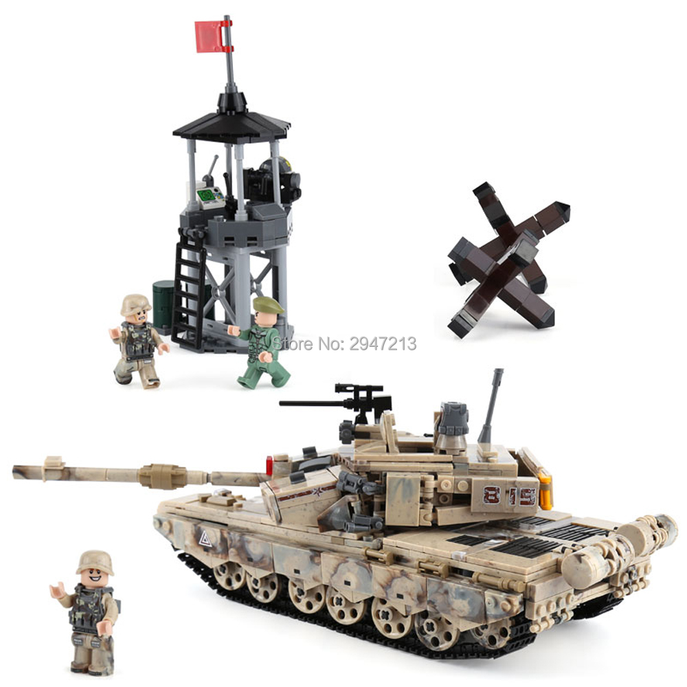 hot LegoINGlys military WW2 army Heavy tank base assault war MOC Building Blocks model mini soldier figures bricks toys for gift moc mini building blocks figures spongebob surf& pirate & hero version diy bricks model figure brinquedos loz block for ages 6