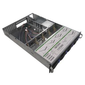 Image 4 - Carcasa de servidor de almacenamiento IPC 2U de 19 pulgadas, chasis de intercambio en caliente, 8HDD, bahías IPFS, S265 8, 6GB, SATA, Avión de fondo con fuente de alimentación de 600W