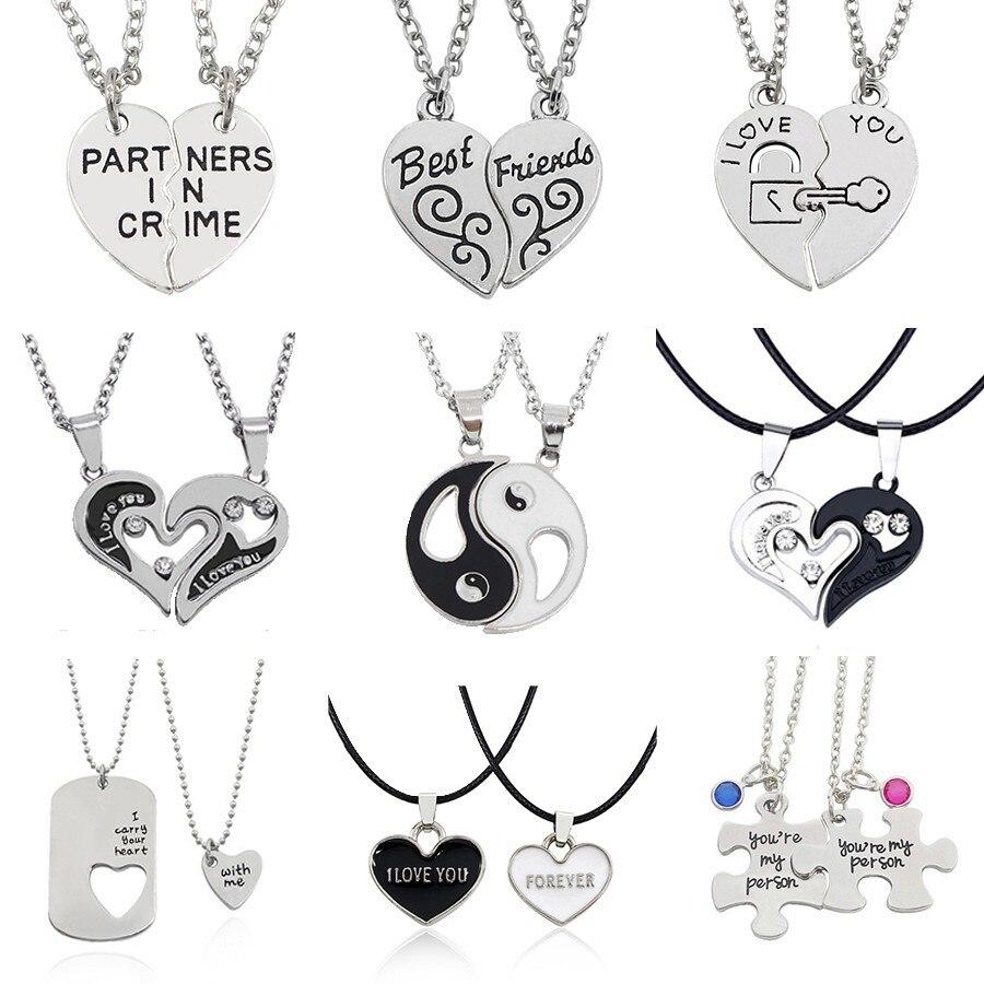 Tiny Fantasy Land Forever Unicorn Luxury Heart Necklace and Pendant