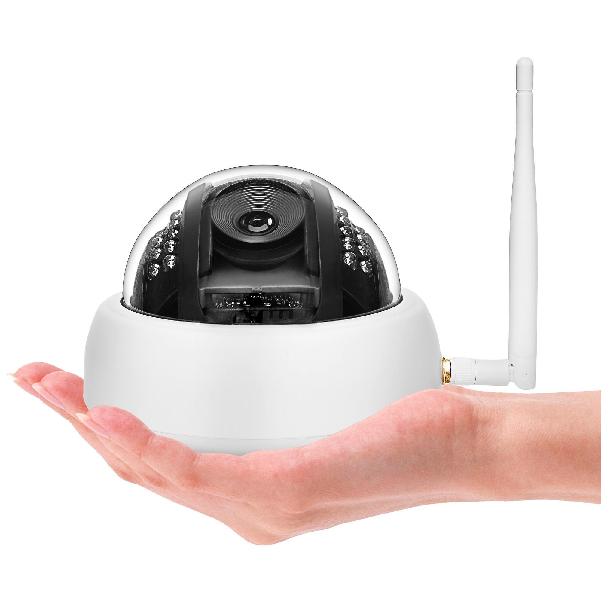 D25W 200W Pixels Wifi Wireless IP Camera CMOS Image Sensor Card Audio Listening Small Hemisphere Security Surveillance CameraD25W 200W Pixels Wifi Wireless IP Camera CMOS Image Sensor Card Audio Listening Small Hemisphere Security Surveillance Camera