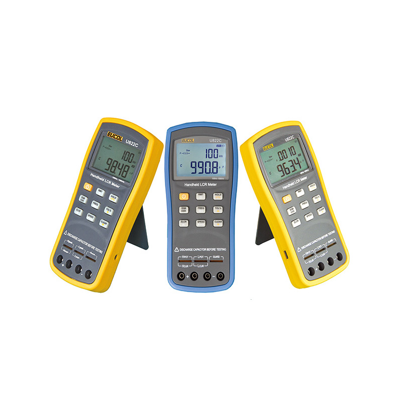 U822 Handhel LCR Meter Digital bridge Measurement of Inductance Resistance Capacitance tester