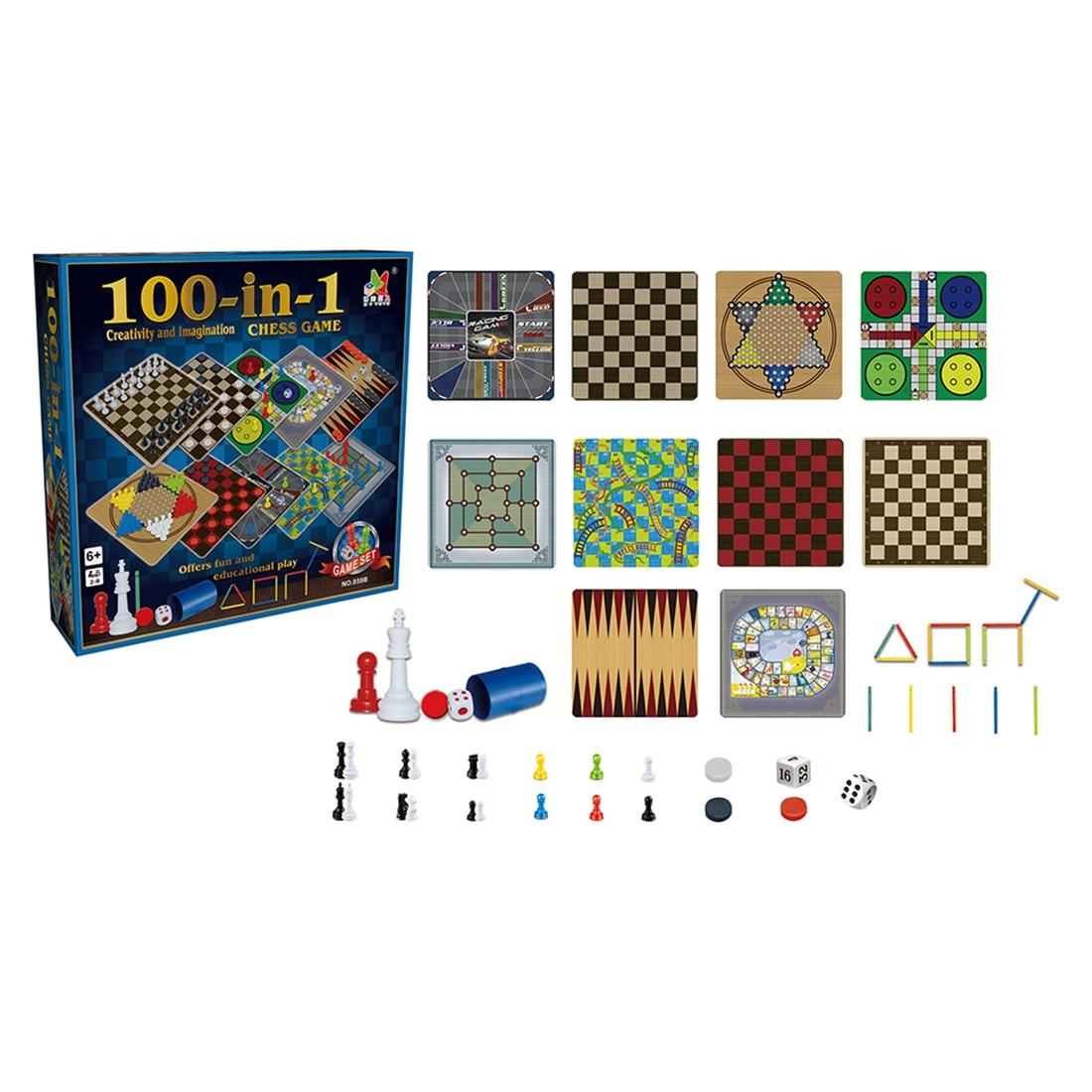 100 in 1 board games