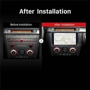 Image 5 - Seicane Android 9.0 9 Inch 2Din Car Radio Quad Core HD 1024*600 GPS Multimedia Player For Mazda 3 2004 2005 2006 2007 2008 2009