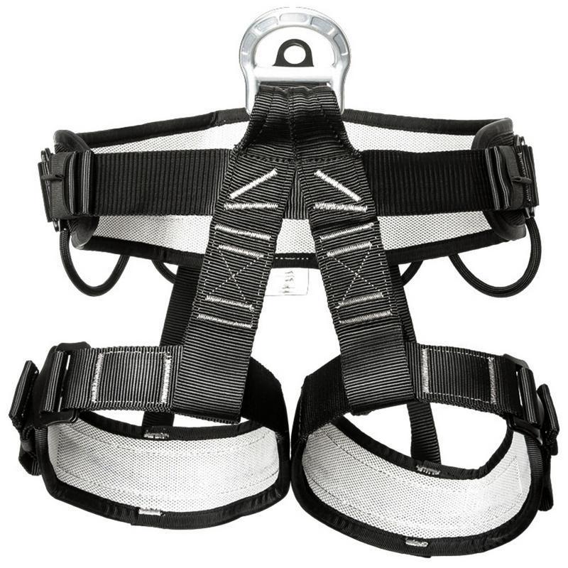 Tomber Protection ceinture de sécurité Escalade Harnais Alpinisme Ceinture Descente En Rappel Escalade Équipements Accessoires pour homme femme
