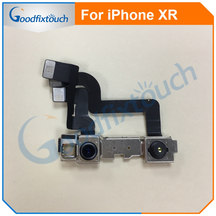 Front Small Facing Camera For iPhone XR With Light Proximity Sensor Flex Cable Ribbon Repair Part