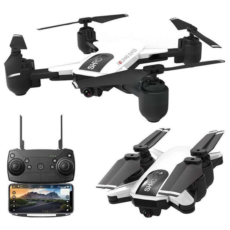 Новый SHRC H1G 1080 P 5 г Wi Fi FPV системы gps Follow Me режим складной 25 минут время полета Радиоуправляемый Дрон Quadcopter RTF
