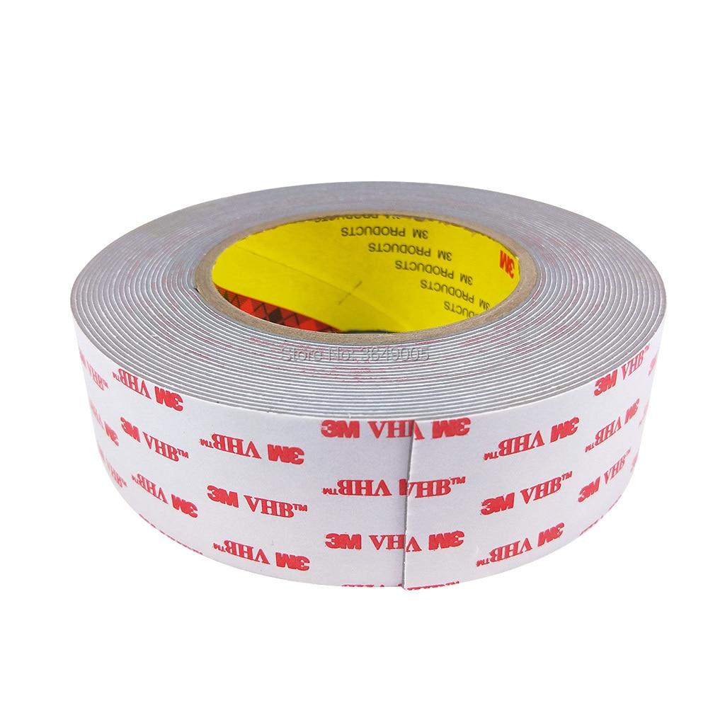3M RP45 Very High Bond  Grey Tape 12mm x 33 Metre Roll